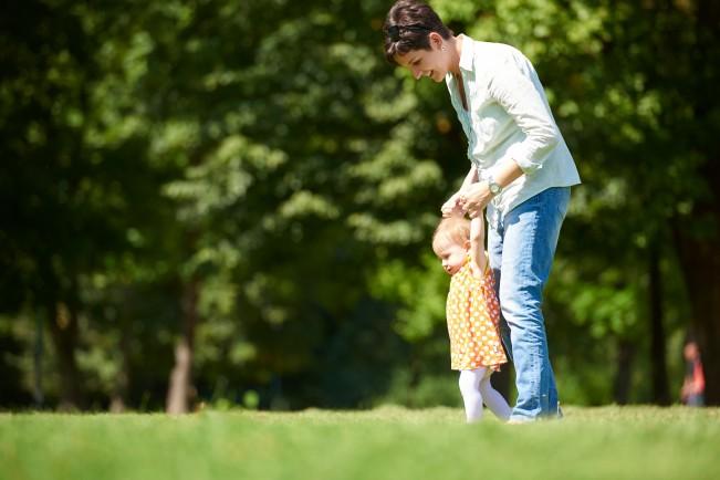 прохождането при детето
